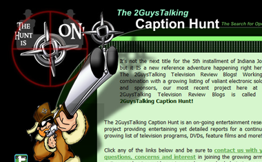 "Click Here to Learn More About ""The Caption Hunt!"""